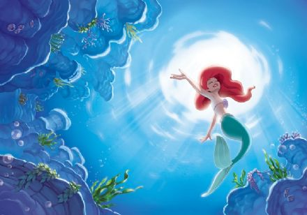 L Ariel the little Mermaid Disney wall mural